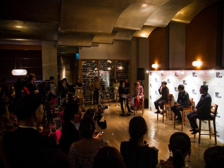 "Talk Show Time! od lewe; Masafumi Suzuki, Junichi Abe, Yasuhito Kashimoda, Motofumi ""Poggy"" Kogi"