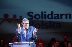 Poseł Tadeusz Cymański (SP) ostrzega przed konsekwencjami, jakie prawica może ponieść w związku z konfliktem na linii Duda-Ziobro.
