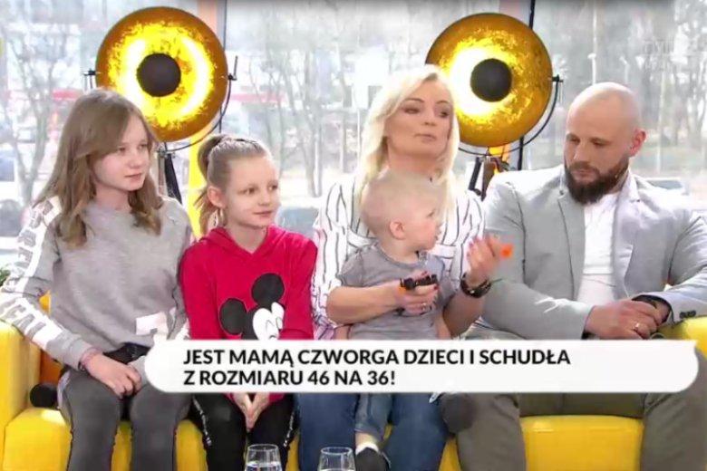 Pierwszą rozmowę Ewa Chodakowska przeprowadziła z małżeństwem, które schudło z rozmiaru XXXL do rozmiaru L.
