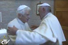 Papież Franciszek spotkał się z papieżem-seniorem Benedyktem XVI. Watykan nie przedstawił zdjęcia z tego spotkania.