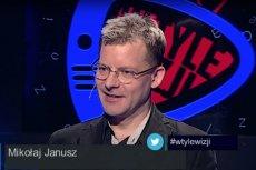 Mikołaj Janusz Jaok z TVP skomentował swoje zachowanie przed atakiem na Magdalenę Ogórek pod siedzibą TVP.