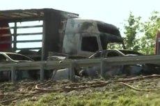 Karambol na A6 pod Szczecinem. Zginęło sześć osób w tym troje dzieci.