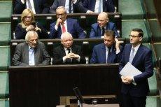 Ziobro spóźnił się na expose premiera.