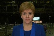 Premier Szkocji Nicola Sturgeon chce przeprowadzenia referendum ws. niepodległości.