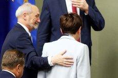 Najbardziej wpływowy z wiceprezesów PiS może być bardzo zadowolony z tego, jak broniła go premier Beata Szydło.