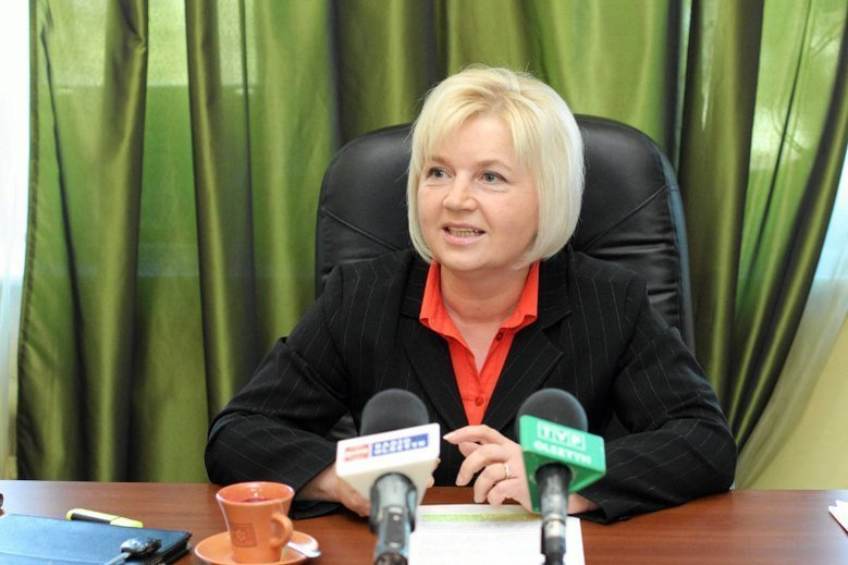 Lidia Staroń startowała w wyborach do Senatu z własnego komitetu.