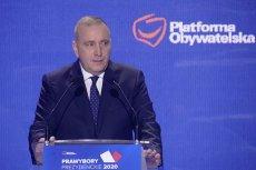 Grzegorz Schetyna obiecuje zmiany podczas Krajowej Konwencji PO.