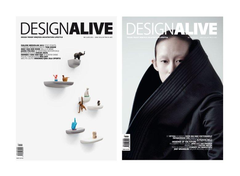 Konkursowe jury wyróżniło okładki magazynów numer 3/2012 i 4/2012.