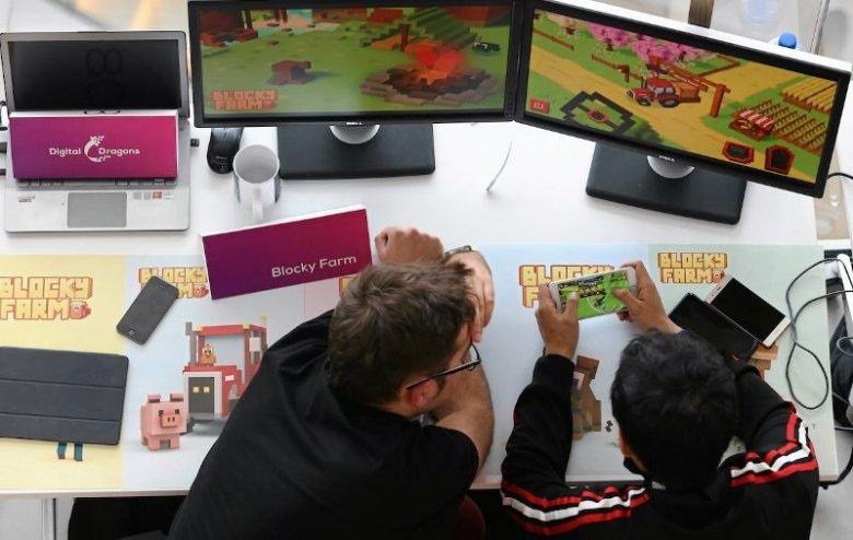 Konferencja gier komputerowych w Centrum Kongresowych ICE w Krakowie. Zdjęcie poglądowe