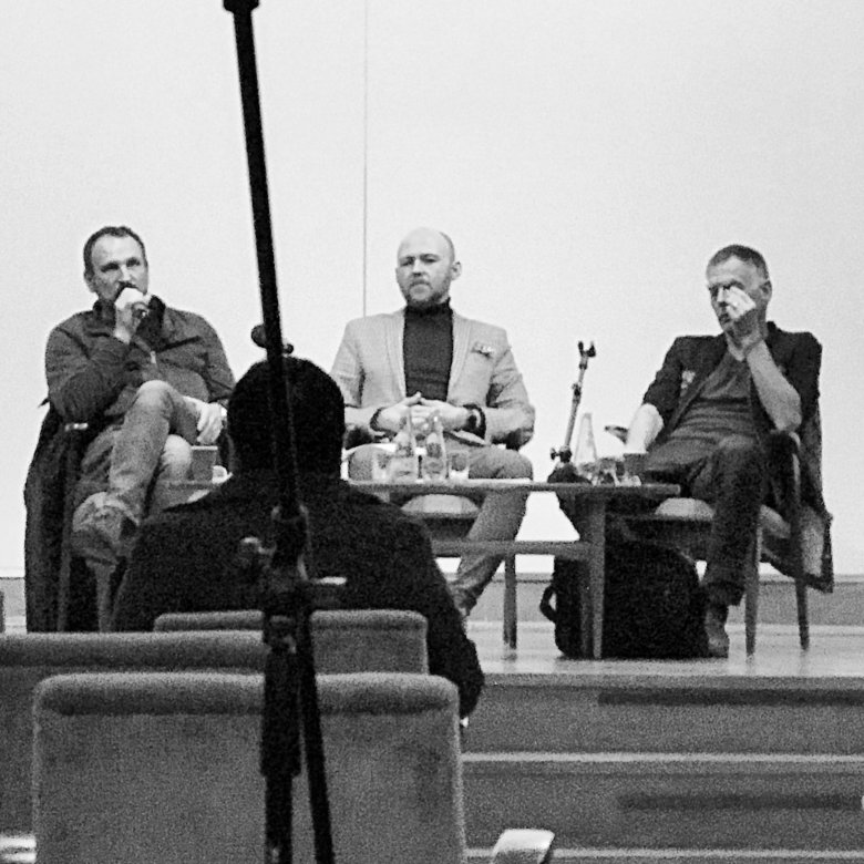 Od lewej: Marek Kościkiewicz, Rafał Kownacki, Tomasz Lipiński.