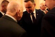 Uczestnik Powstania Warszawskiego, Zbigniew Leman, cieszy się z wizyty prezydenta Andrzeja Dudy w Australii.