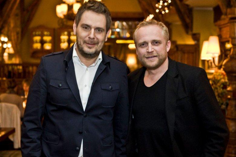Piotr Adamczyk w swojej restauracji Stary Dom w Warszawie gościł m.in. Wojciecha Modest Amaro, cenionego kucharza i restauratora.