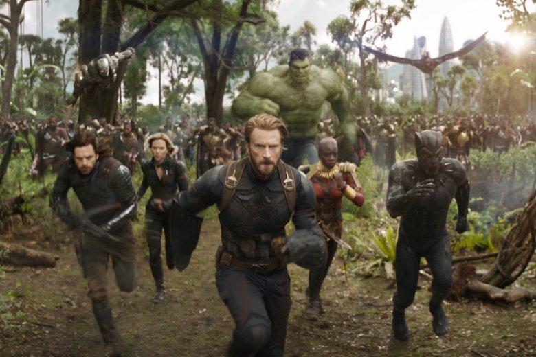 """""""Avengers: Wojna bez granic"""" to najnowsza ekranizacja komiksów Marvela. Superbohaterowie muszą stanąć razem do walki przeciwko Thanosowi"""