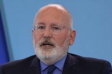 Wiemy, że rozpoczęły się postępowania dyscyplinarne wobec sędziów - powiedział wiceszef Komisji Europejskiej Frans Timmermans.