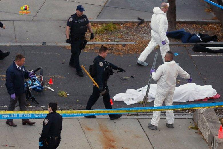 W atku terrorystycznym w Nowym Jorku zginęło 8 osób, a 11 zostało rannych.