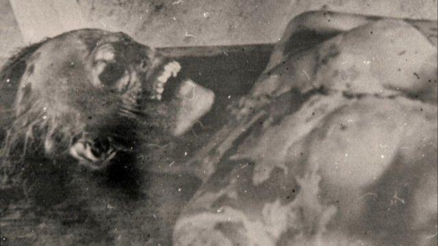 Jedna z ofiar Góry Umarłych...