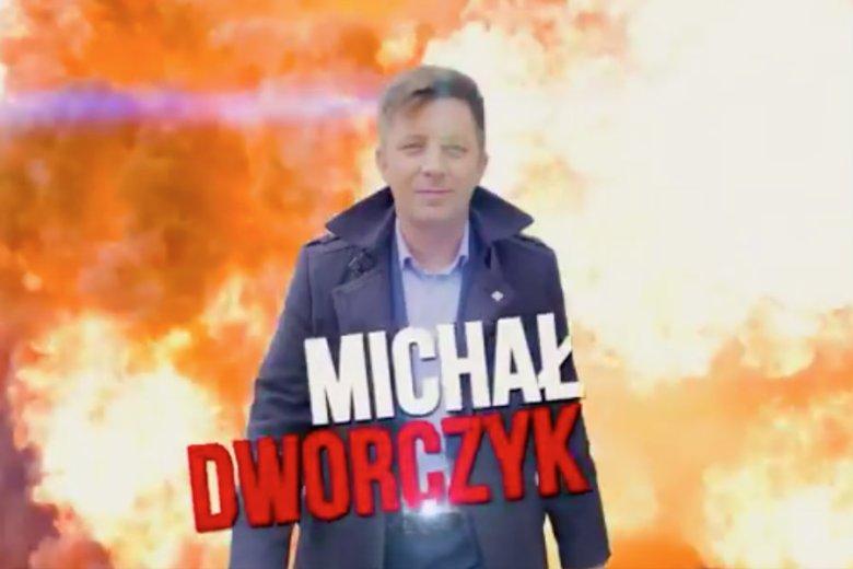 Michał Dworczyk pokazał spot z nawiązaniem do swojej wybuchowej przeszłości.