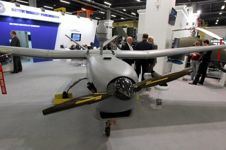 Drony mogą mieć też słuszne rozmiary