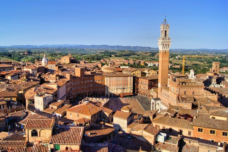 Siena - najlepiej zachowane średniowieczne miasto w Europie.