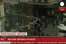 W Brukseli wybuchły zamieszki antyislamskiej prawicy.