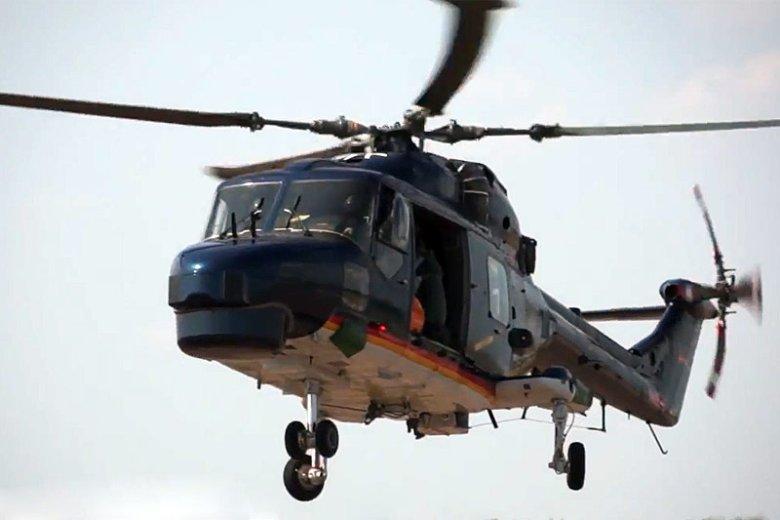 Westland Lynx MK88A to teoretycznie podstawowy śmigłowiec niemieckiej marynarki, ale w rzeczywistości żadna z tych maszyn nie nadaje się do lotu.