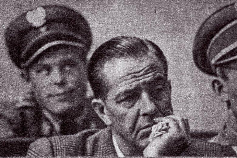 Władysław Mazurkiewicz na procesie