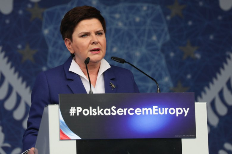 Beata Szydło spotkała się z ostrą krytyką po swojej wypowiedzi dotyczącej spotkania w Pułtusku.