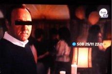Kevin Spacey jako Kevin S. w zwiastunie filmu w TVN.