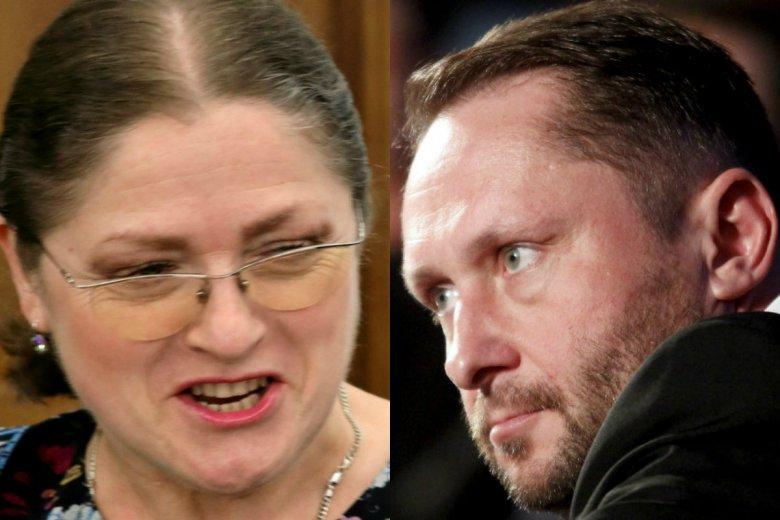 Krystyna Pawłowicz i Kamil Durczok pokłócili się na Twitterze. Poszło o wynagrodzenia dla pracowników, ale oboje radykalnie odbiegli od tematu.