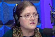Krystyna Pawłowicz tłumaczyła się z hejtu na Facebooku na antenie polonijnego radia.