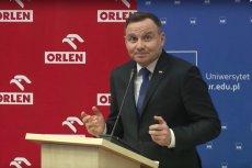 """Wypowiedź prezydenta Andrzeja Dudy z przesłaniem """"cały czas czegoś się uczę"""" została nominowana w plebiscycie """"Srebrne Usta"""" w radiowej Trójce."""
