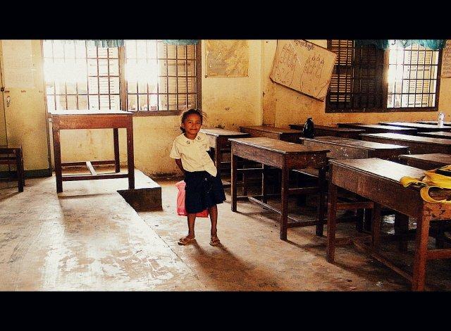 Szkoła w Kambodży
