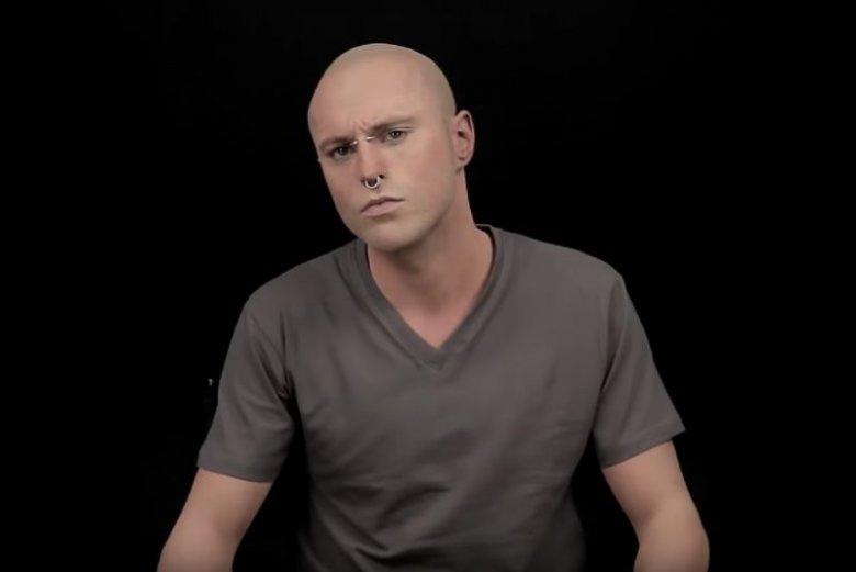 Jak Wyglądałby Zombie Boy Bez Tatuaży Rick Genest Popełnił