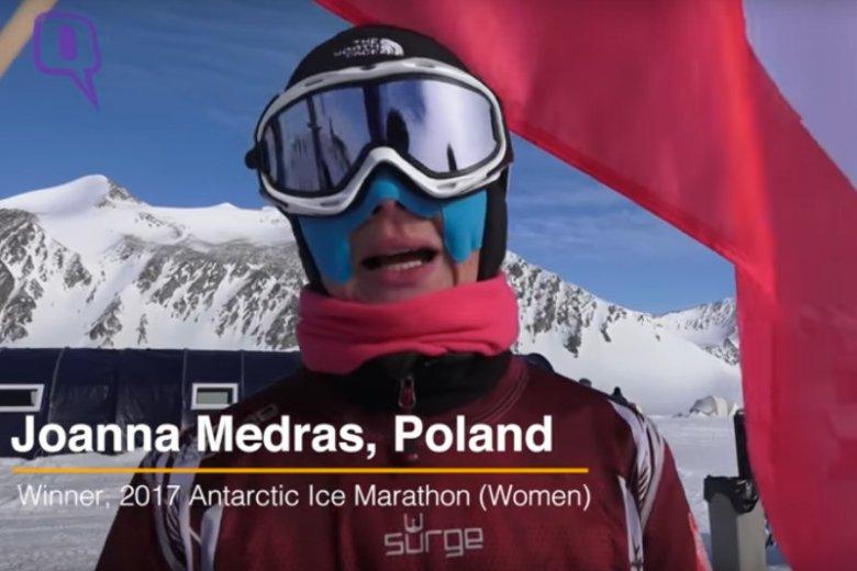 Po raz pierwszy w historii zwycięstwo w Antarctic Ice Marathon należy do obywatela naszego kraju.