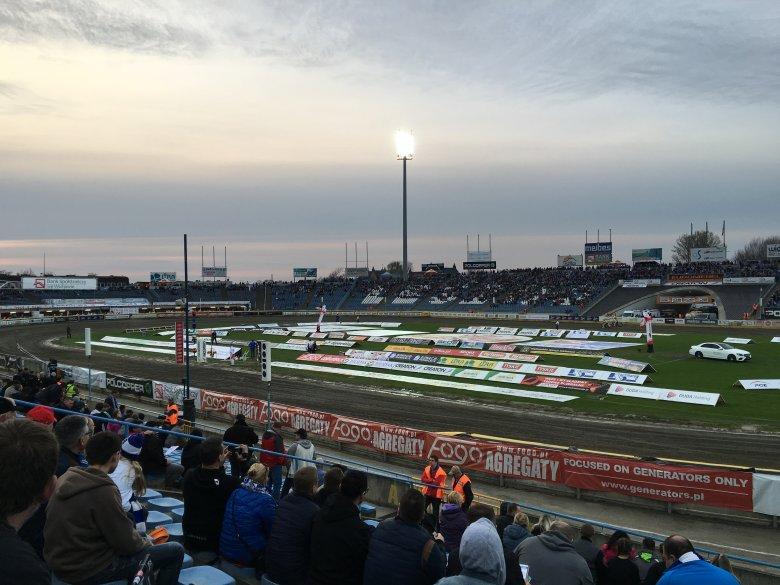 Stadion żużlowy w Lesznie