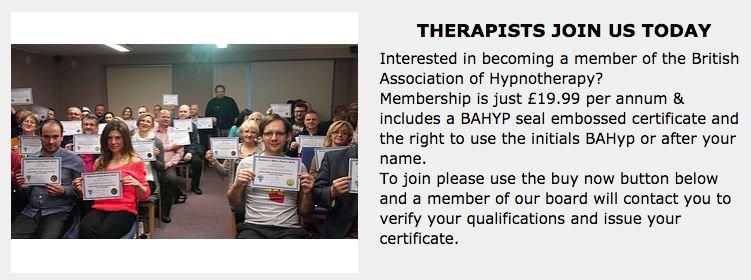 Członkostwo w British Association of Hypnotherapy można kupić łącznie za 30 funtów (na zdjęciu jest 20, ale po wejściu w okno przelewu cena wzrasta)