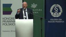 Prok. Krzysztof Parchimowicz, szef Stowarzyszenia Prokuratorów, które prowadzi batalię z Prokuratorem Generalnym Zbigniewem Ziobrą