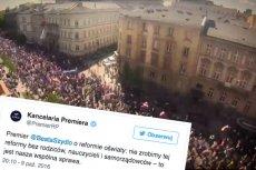 Kancelaria Beaty Szydło informuje na Twitterze, że reforma edukacji nie odbędzie się bez udziału nauczycieli, rodziców i samorządowców. Uspokoi nastroje?