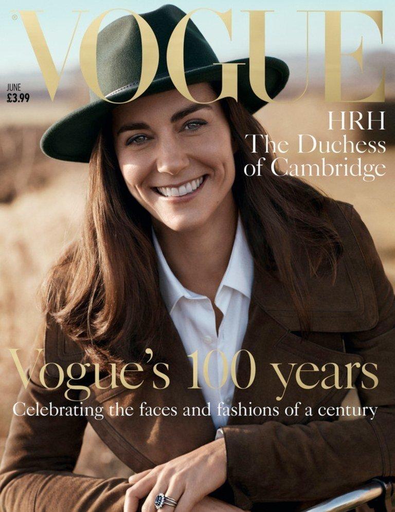 "Kate na okładce magazynu brytyjskiego ""Vogue'a"""