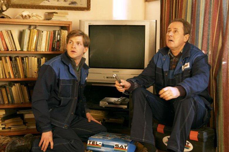 """Mirek z serialu """"Mamuśki"""" na Polsacie również pracował jako monter."""