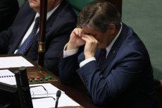 Marszałek Sejmu będzie pozywał za teksty o skandalu obyczajowym.