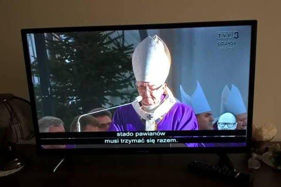Takąaudiodeskrypcję zobaczyli w trakcie pogrzebu Pawła Adamowicza widzowie TVP3 Gdańsk...