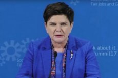 Beata Szydło skrytykowała szkalowanie obywateli Polski podczas szczytu w  Goeteborgu.