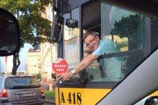 Wesoły Kierowca w pracy.