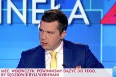 """Michał Rachoń we wczorajszym programie """"Minęła 20"""" rozmawiał m.in. o propozycjach zmian w Sądzie Najwyższym."""