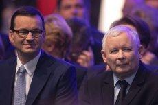 Mateusz Morawiecki i Jarosław Kaczyński ogłosili w Krakowie, że niepełnosprawni dostaną specjalny dodatek.