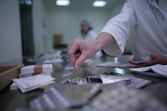 Fabryka Aflofarmu w Ksawerowie pod Łodzią gdzie powstają leki konkurencyjne wobec produkcji światowych gigantów.