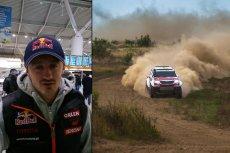 Adam Małysz i auto którym pojedzie w Rajdzie Dakar