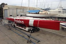 Jacht już jest, został nawet przemalowany, ale Polska Fundacja Narodowa nigdy go oficjalnie nie kupiła.