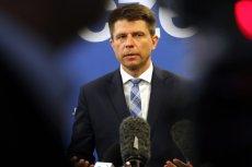 Ryszard Petru zrezygnowałz funkcji szefa klubu Nowoczesnej.